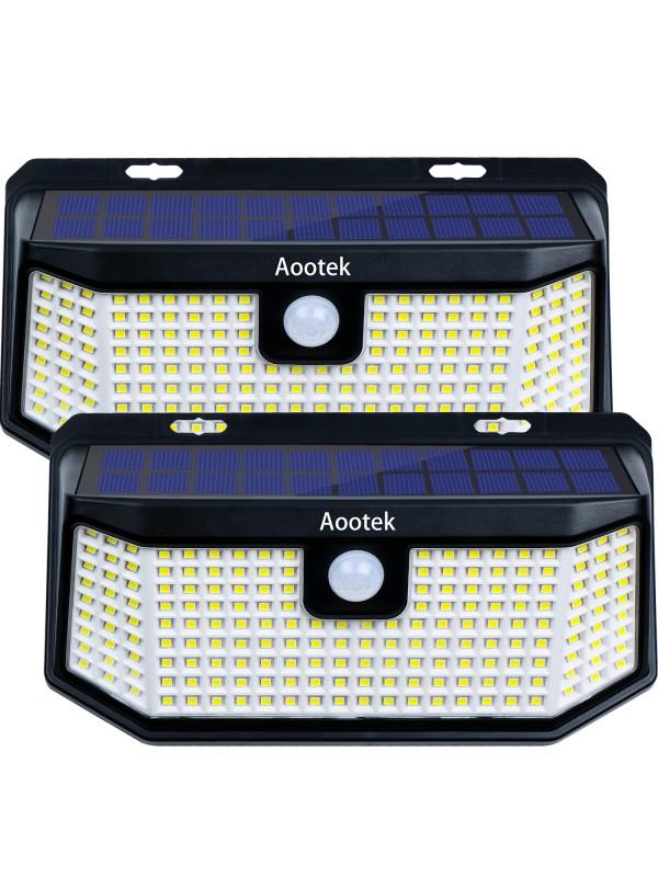 Aootek 238 Led Solar outdoor motion sensor lights ...
